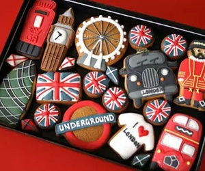 london, Cookies, and food image