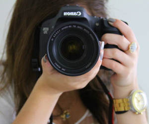 canon, fashion, and girl image