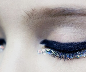 makeup, eyeliner, and fashion image