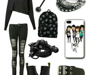 emo, idea, and outfit image