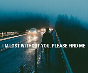 lost, sad, and you image