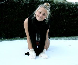 beautiful, blonde, and cold image