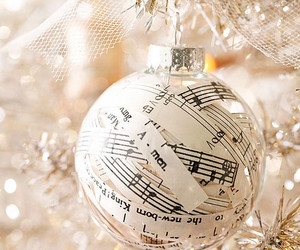 christmas, music, and decoration image