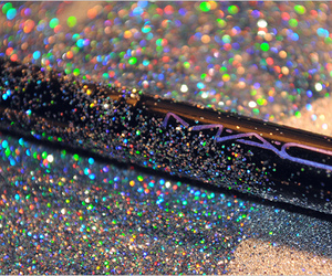mac, glitter, and makeup image