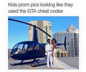 funny, gta, and Prom image
