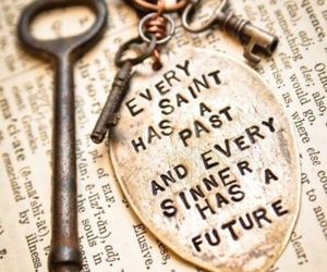 saint, quote, and sinner image