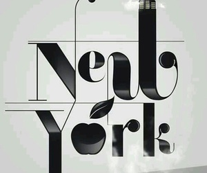 new york, apple, and city image