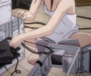 anime, pale, and serial experiments lain image