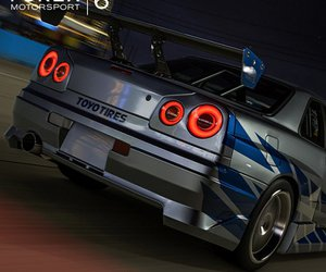 fast and furious, gtr, and r34 image