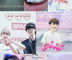 exo, pink, and exo k image