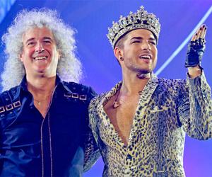 adam lambert and Queen image