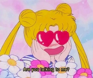 aesthetic, soft grunge, and sailormoon image