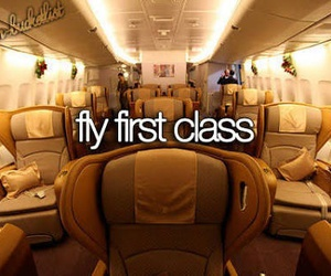 first class, bucket list, and luxury image
