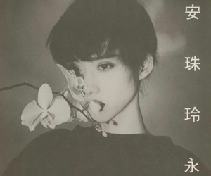 girl, flowers, and asian image