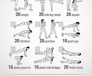 sport, healthy life, and workouts image