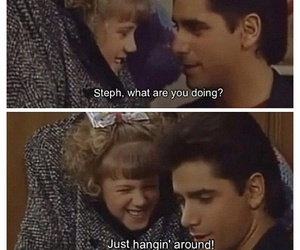 full house, uncle jesse, and steph image