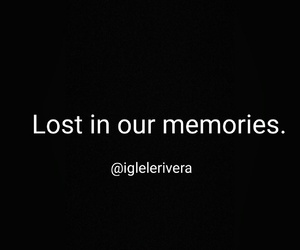 life, memories, and lost image