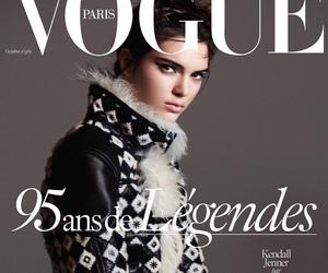 kendall jenner, vogue paris, and model image