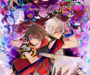 kingdom hearts, game, and sora image
