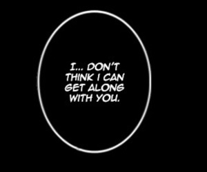 black and white, manga, and quotes image