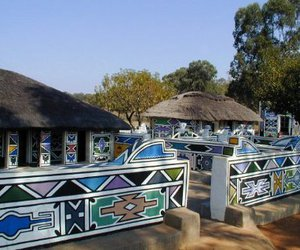 African, Houses, and traditional image