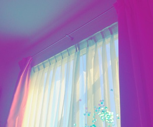 pink, purple, and window image