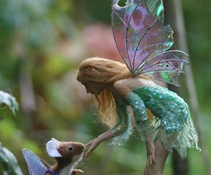 fairy, mouse, and fantasy image