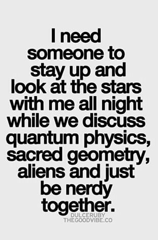 Nerdy love - quote discovered by Nice_rose on We Heart It