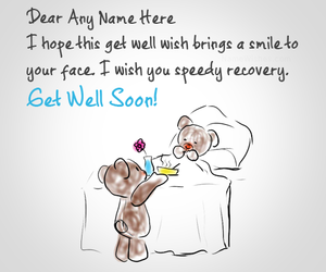 get well soon, wishes, and caring quotes image