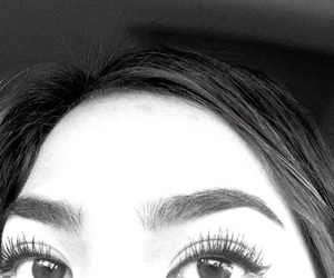 browns, eyes, and lashes image