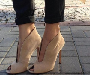 fashion, high heel, and shoes image