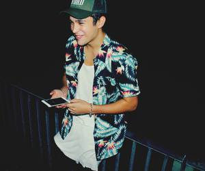 smile, cute, and austin mahone image