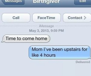 funny and 'birth giver' image