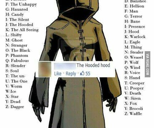 Figure, hooded, and mysterious image