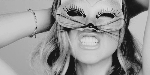 chats, femmes, and masque image