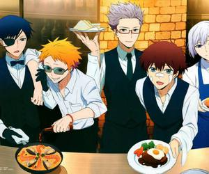 hamatora and anime image