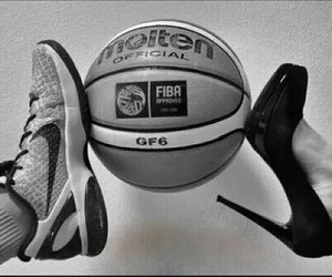 ball, Basketball, and love image