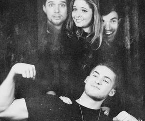 sasha pieterse, cody christian, and pretty little liars image