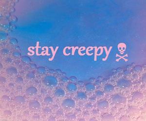 creepy, pink, and bones image