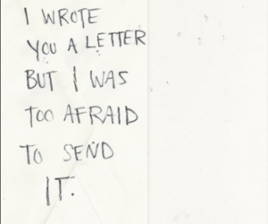 Letter, love, and quotes image