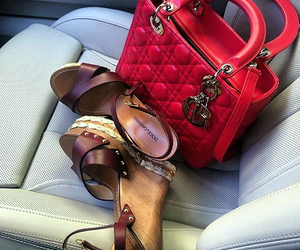 dior, fashion, and heels image
