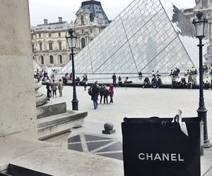 chanel, paris, and louvre image