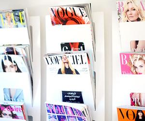 magazine, fashion, and vogue image