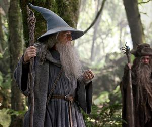 gandalf, the hobbit, and radagast image