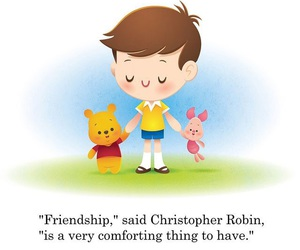 winnie the pooh and friendship image