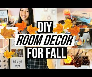 autumn, decor, and decoration image
