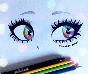 eyes, art, and beautiful image