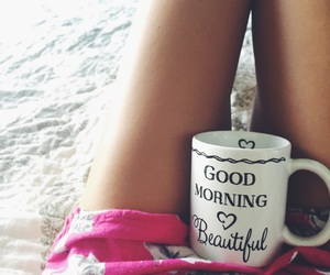 coffee, Lazy, and girl image
