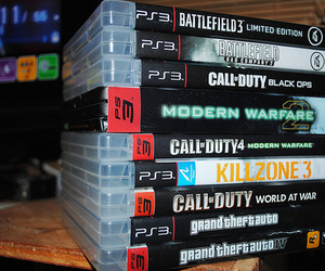 game, ps3, and cod image