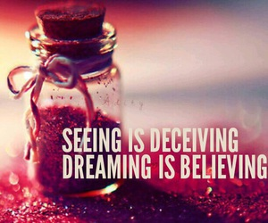 dreaming, quote, and who you are image